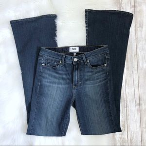 PAIGE High Rise Bell Canyon Flare Jeans NWOT